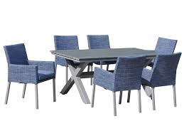 Eco Outdoor Furniture by 7 Piece Eco Outdoor Table And Chairs Excalibur Nz