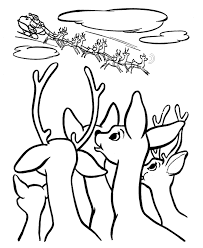 rudolph red nosed reindeer coloring pages kids coloring