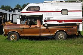 Ford Ranger With Truck Camper - item 34581 1973 ford f 250 ranger xl studio find it