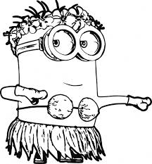 minion coloring pages print minion despicable 3