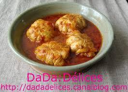 cuisiner paupiette de dinde paupiettes de dinde sauce tomate dada délices le du bon