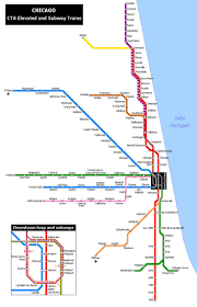 Metro Redline Map Map Of Chicago Transit Lines You Can See A Map Of Many Places On