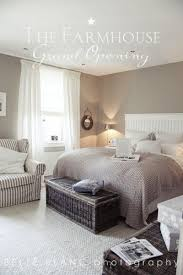 love this cozy bedroom greige walls white grey the