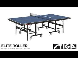 stiga advance table tennis table assembly stiga elite roller css advance indoor tennis table