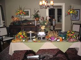 creative buffet style table setting 23 upon interior decorating