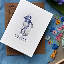 Merry Birthday Card Letterpress Greeting Card Letterpress Birthday Card
