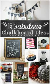 Decorative Chalkboard For Home by 15 Fabulous Chalkboard Ideas The Turquoise Home