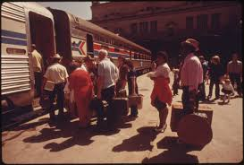 Kansas travel bound images File amtrak train at union station in kansas city missouri being jpg