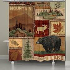 Adirondack Shower Curtain by Adirondack Pine Shower Curtain Free Shipping On Orders Over 45
