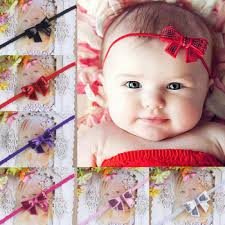 baby hair band toddler hair accessory sweet baby girl sequins bowknot headbands