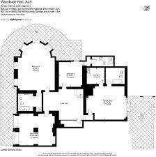 hatfield house floor plan 6 bedroom house for sale in wildhill road woodside hertfordshire