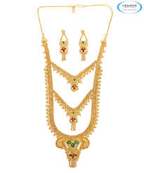 buy 1 gram gold plated necklace