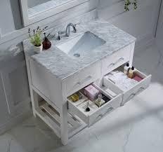 virtu usa caroline estate 36 single bathroom vanity set in white