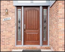 Exterior Wood Doors With Glass Panels by Exterior Wood Doors Rustic 2panel Stained Knotty Alder Wood