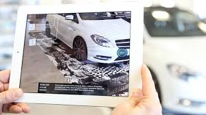 mercedes showroom explore a new reality with the mercedes benz b class showroom app