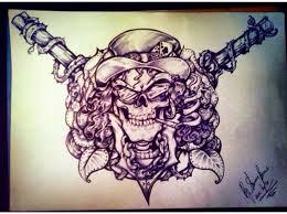 guns n roses slash tattoo design by misstangshan95 on deviantart