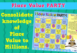 place value number game u2013 millions fun printable classroom games
