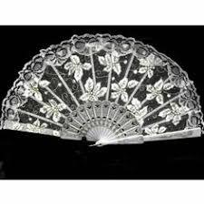 hand fans for sale a lot of 3 white rosette lavender lace bridal wedding hand fan fans