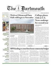 Canap茅 Lit D Appoint The Dartmouth 9 21 17 By The Dartmouth Newspaper Issuu