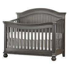 Gray Convertible Crib Sorelle Finley 4 In 1 Convertible Crib In Vintage Grey Bed Bath