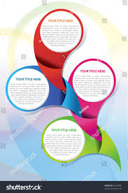 Litora Torqent Per Conubia by Vector Brochure Page Design Concept Four Stock Vector 92530789