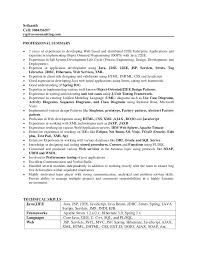 Sample Resume For Software Engineer With One Year Experience Cover Letter For Entry Level Manager Top Mba Dissertation Chapter