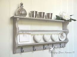 Shabby Chic Wall Cabinets by Vintage Wall Unit Zeppy Io