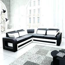 canapé d angle convertible canape d angle blanc et noir canapac dangle noir et blanc marabella