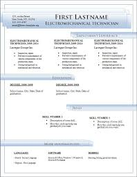 Functional Resume Template Word 2010 Microsoft Word Resume Template Free Resume Template And