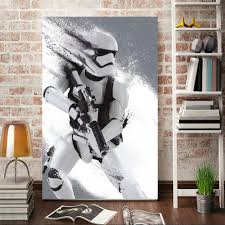aliexpress com buy morden wall art stormtrooper star wars movie