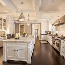 Light Brown Kitchen Cabinets Cottage Kitchen Hammersmith Atlanta - Long kitchen cabinets