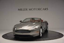 used aston martin db9 2016 aston martin db9 volante gt stock 7137 for sale near