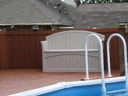 suncast 50 gallon patio bench walmart com