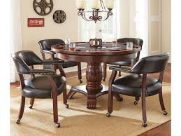 Monticello Dining Room Vendor 3985 Tournament Tournament Round Game Table U0026 Caster Arm