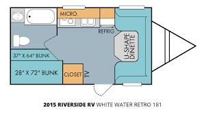 2015 riverside rv white water retro 181 travel trailer u2013 stock