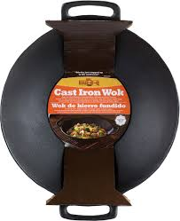 Cast Iron Cooking Amazon Com Mr Bar B Q 06106x Cast Iron Wok Outdoor Grill Woks