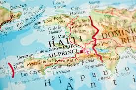 Map Dominican Republic Map Of Dominican Republic And Haiti With Study Site Circled Map