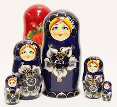 floral matryoshka doll russian legacy