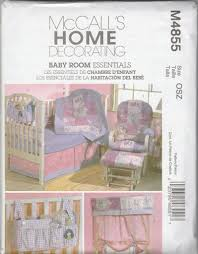amazon com mccall u0027s patterns m4855 baby room essentials one size
