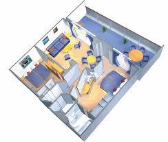 royal caribbean floor plan adventure of the seas grand suite 2 bedroom category