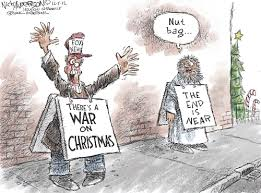 War On Christmas Meme - editorial cartoon the war on christmas know your meme