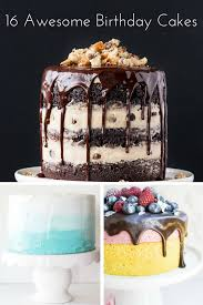 16 birthday cake ideas simple and seasonal