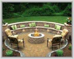 Backyard Landscaping With Fire Pit - outdoor patio ideas with firepit outdoor patio ideas pinterest