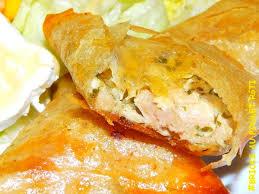 cuisiner des restes de poulet bricks au poulet rôti creme fraiche et fromage fondu ou comment