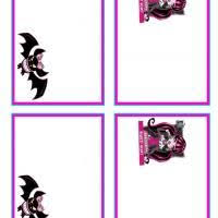 items similar to monster high water bottle label printable 5