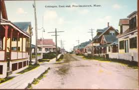 provincetown cape cod east end vintage postcard