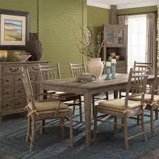 chapin furniture riverbank u0027willow bank u0027 dining room table