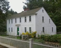 saltbox house saltbox historic buildings of massachusetts