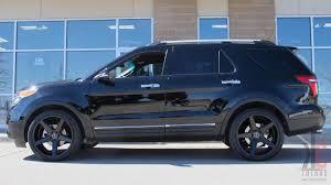 ford explorer sport wheels kc trends showcase 22x10 5 kmc district wheels in matte black
