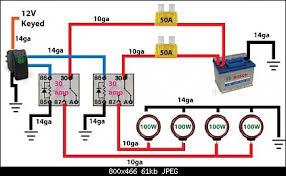 off road light wiring diagram automotive electronics